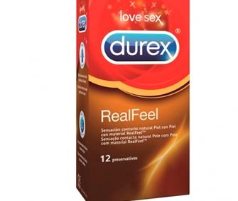 DUREX PRESERVATIVO REAL FEEL – 12 UNIDADES19 puntos